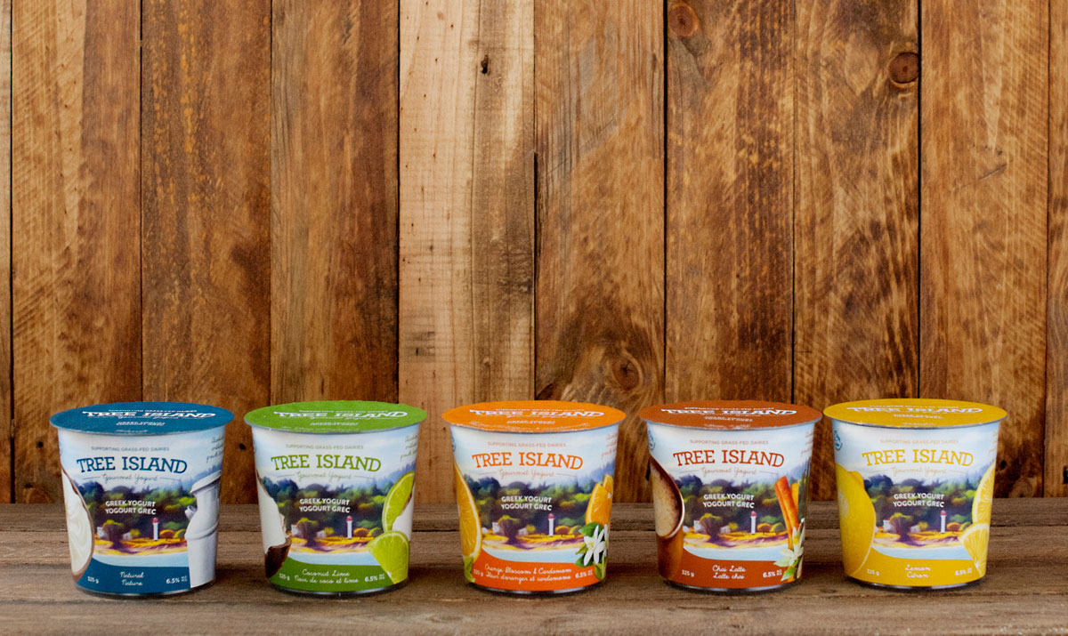 Tree Island Gourmet Yogurt